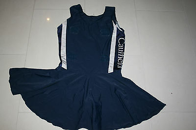 Netball Bodysuit Dress Ladies Small Caulfield Grammer Training Diamonds