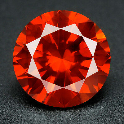 .052 cts. BUY CERTIFIED Round Vivid Red Color VS Loose Real/Natural Diamond #t30