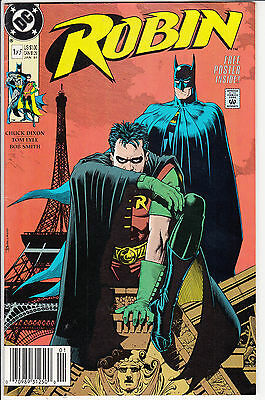 ROBIN  #1 of 5  VF/VF+   JAN   1991 1st PRINT D.C COMICS WITH POSTER