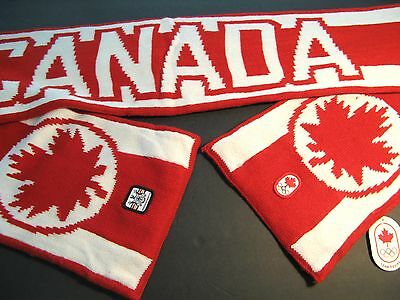 Vancouver 2010 Olympic Games Canada Scarf Hudson's Bay Red White New Tags Nwt