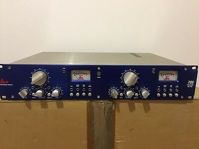 DBX 786 Dual Channel Microphone Preamp