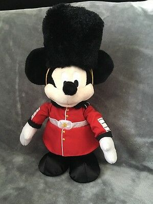 "Disney Store Mickey Mouse ""beefeater""talking/walking Plush Toy"