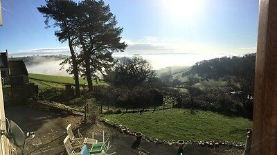 5 BED WELSH FARMHOUSE HOLIDAY COTTAGE - HOT TUB  - WEEKEND 14TH JULY SLEEPs 14