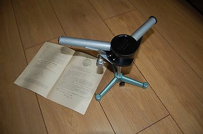 Spectroscope prism dual tube Russian vintage NOS, 1970