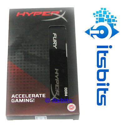 Kingston 16Gb Ddr4 2400 Pc4 Hyperx Fury Ram Memory Hx424C15Fb2K2/16 288 Pin Cl14