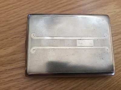 Vintage Metal Cigarette Case