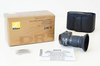 Nikon DR-5 Right Angle Viewfinder Mint Condition