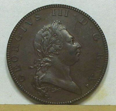 Great Britain Proof Pattern Copper Half Penny 1790 Choice Proof