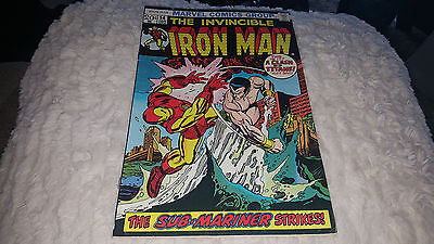 Iron Man #54 (Jan 1973, Marvel) FINE/FINE+..1ST.APPEARANCE OF MOONDRAGON!!!!