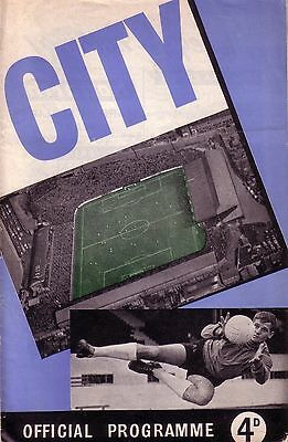 COVENTRY v PORT VALE 1960/61 DIVISION 3