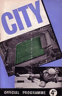 COVENTRY v WALSALL 1960/61 DIVISION 3
