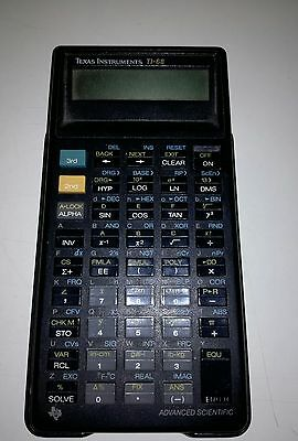 Calcolatrice Texas instruments TI Programmable 57 -  Calculator, Vintage