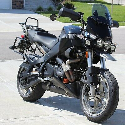 2010 Buell Ulysses XB12X  2010 Buell XB12X Ulysses Midnight Black Dual Sport Adventure Bike; 1x of 16x