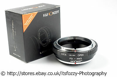 K&F FD to Micro Four Thirds MFT Adapter K&F Concept FD to M43 Adapter Canon