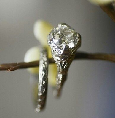 vintage art deco engagement ring setting