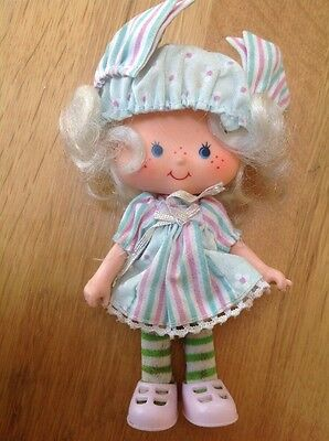 Vintage 1980's Strawberry Shortcake Doll  Angel Cake Party Pleasers Pleaser