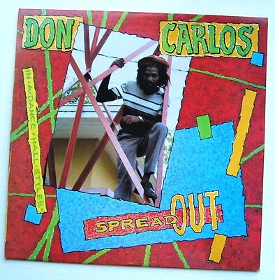 Don Carlos / Spread Out [Burning Sounds] Lp