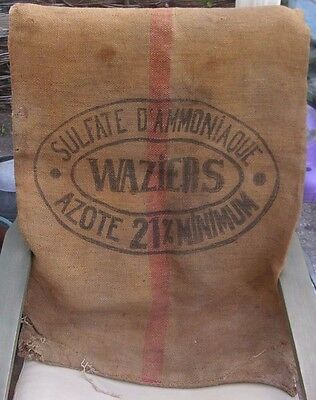 French Vintage Hessian Sack