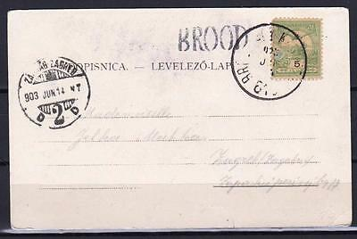 OLD AUSTRIA BOSNIA  BROOD transit cancelation RRR