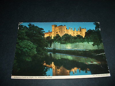 Irish Postcard  Kilkenny Castle By Night  Ireland
