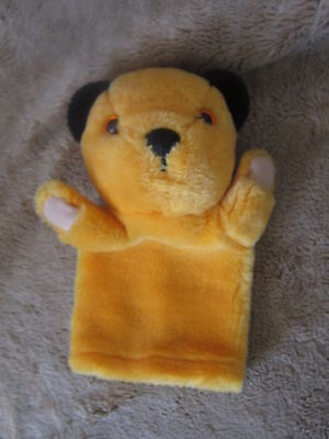 """Sooty Hand Puppet Approx 9""""  Tall"""