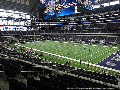 2-Giants @ Cowboys- Section 229-Row 2-Awesome View!!!