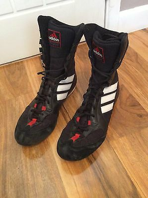 Adidas Tygun Uk 9 Black Boxing Boots