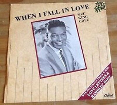 """Nat King Cole - When I Fall In Love - 1987 Capitol Label 12"""" Ep"""