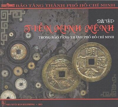 Vietnam HCM City museum's book of Minh Mang coins & silver bars collection
