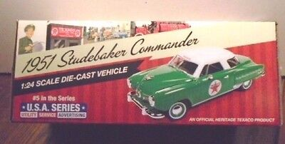 New 2017 Texaco 1951 Studebaker Commander Starlight Coupe #5 Usa Series Sold Out