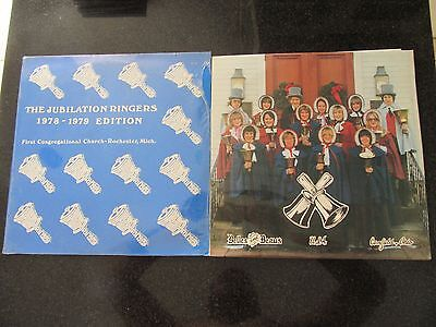 JUBILATION RINGERS / CANFIELD HIGH SCHOOL (OHIO) 2 x PRIVATE PRESS HANDBELL LPs