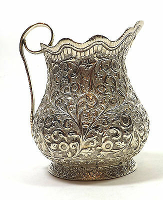 Jug Indian Solid Silver Clan MacDouglas Dougall Stewart Cutch Bombay INDIA 1890