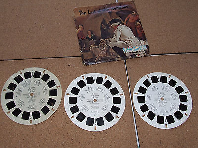 Vintage Sawers  View-Master The Last Of The Mohicans 3 Reel Set