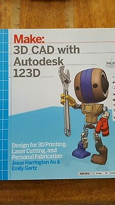 Make: 3D CAD with autodesk book
