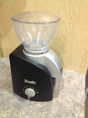 Dualit L 60 - Electric Burr Coffee Bean Grinder 75002