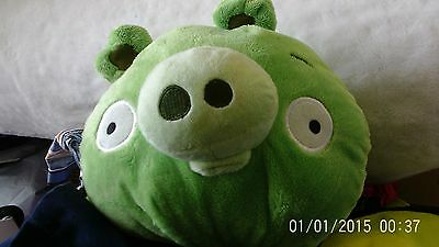 "Official Angry Birds Evil Pig Plush 6"" Soft Toy"