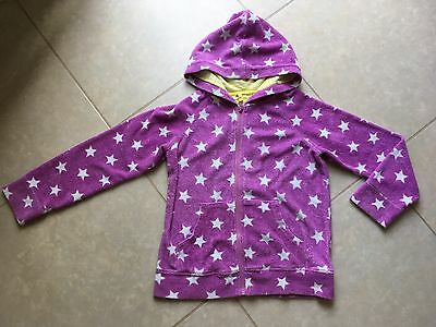 Girls Mini Boden towelling zipped hoody, age 9-10 yrs