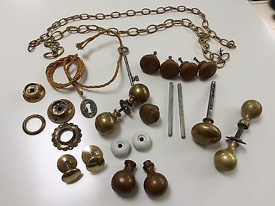 Lot Of Antique Knobs And Accessories