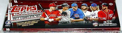 2017 Topps Baseball Factory Sealed Complete Set Pre-Order Jul 5th Hobby Edition