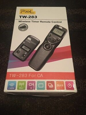 PIXEL TW-283/E3 LCD Wireless Shutter Release Timer Remote Control for Canon E...