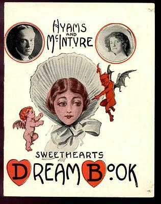 "1912 ""GIRL OF MY DREAMS"" JOHN HYAMS & LEILA McINTYRE FLOP HOSCHNA & HARBACH"