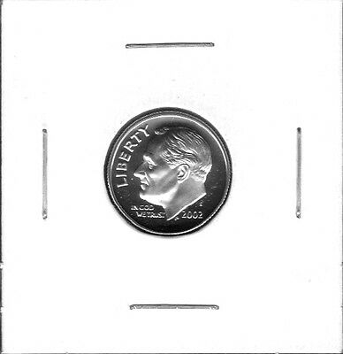 2002-S Choice Proof Roosevelt Dime