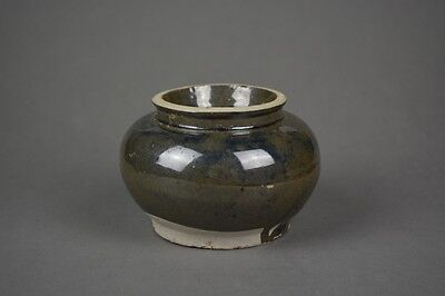 Antique Chinese Song Dynasty Style Earthen Ware Jar/Jarlet