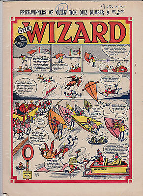wizard comic golden age1949 2 copies post free uk only