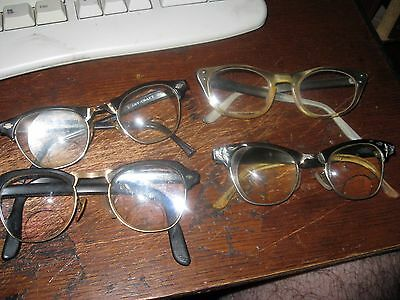 4 Vintage Cat Eyes Eyeglasses Eye Wear #2