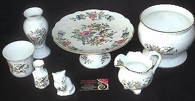 Aynsley PEMBROKE 7 Assorted Pieces - Including Tazza / Cake Stand - JOB LOT