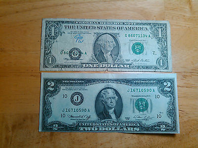 Error Note Set ($1 and $2)