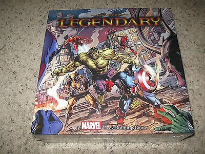 MARVEL LEGENDARY DECK BUILDING GAME new and SEALED!  500 cards! Avengers THOR
