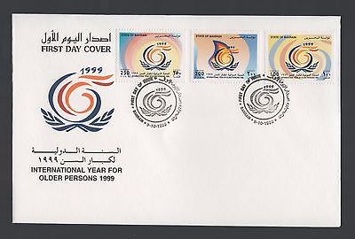 Bahrain 1999 FDC International Year for Older Persons