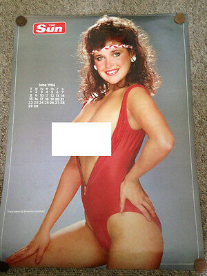 Tracey Neve & Erica Preston Page 3 Girl Calendar Poster Page 2 Sides